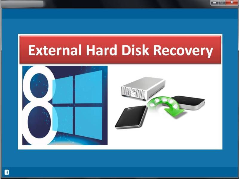 External Hard Disk Recovery full screenshot